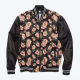 Karamo Rose Print Bomber Jacket