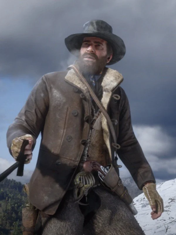 Rdr2 Scouts Leather Jacket