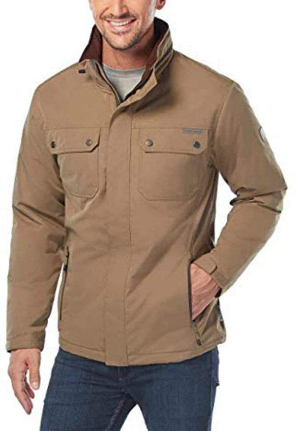 Rugged Elements Tan Trek Jacket