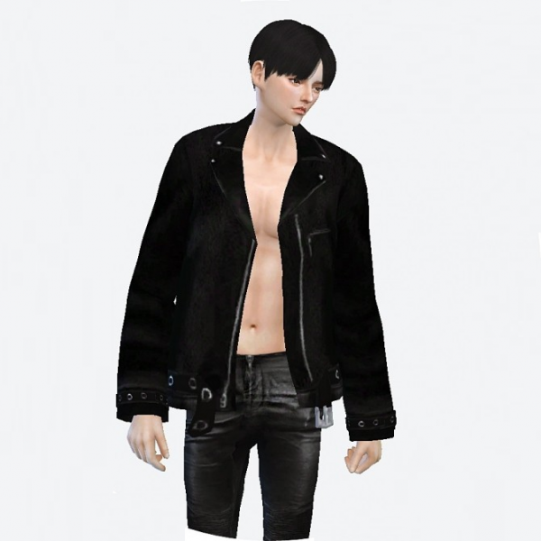 Sims 4 Leather Jacket Male