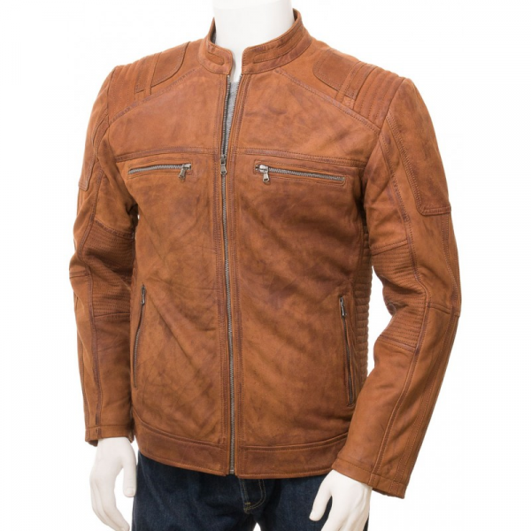 Tan Leathers Jacket