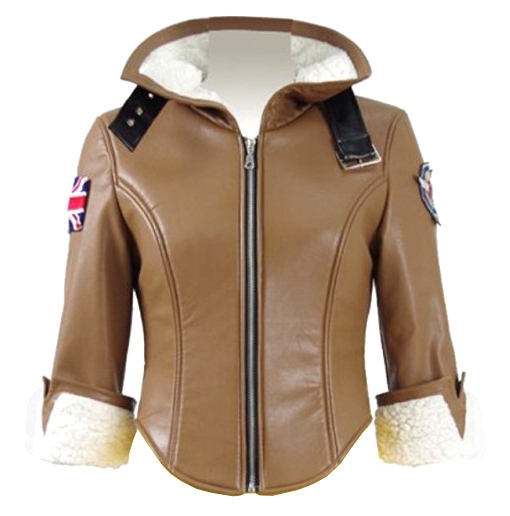 Tracer Bomber Leather Jacket