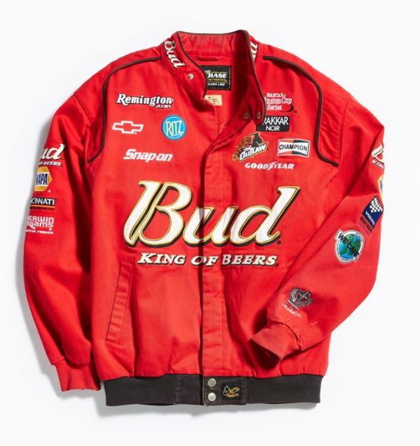 Vintage Nascar Leather Jacket