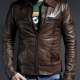 Wheelman Brown Leather Jacket