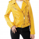Yellows Leathers Jacket