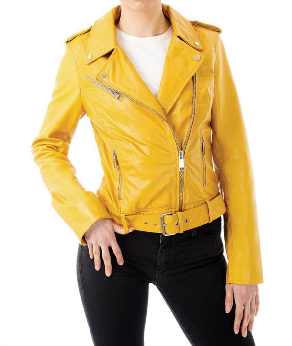 Yellows Leathers Jacket