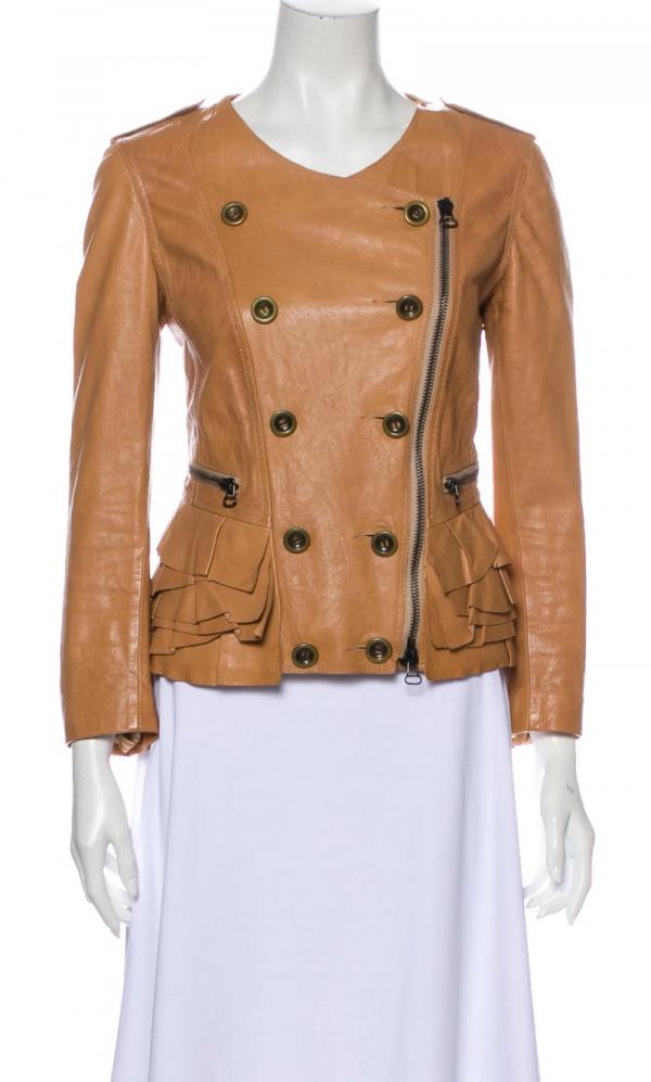 3.1 Phillip Lim Biker Leather Jacket