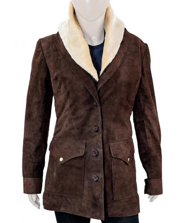 Beth Dutton Wool Coat