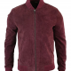 Black Mirror S05 Karl Bomber Suede Jacket