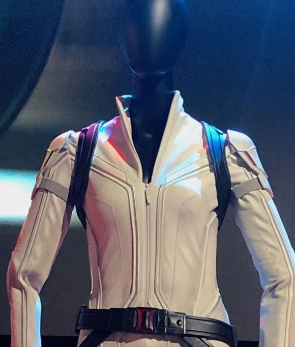 Black Widow White Jacket