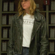 Carol Danvers Biker Leather Jacket