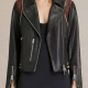 Dex Parios Black Leather Jacket