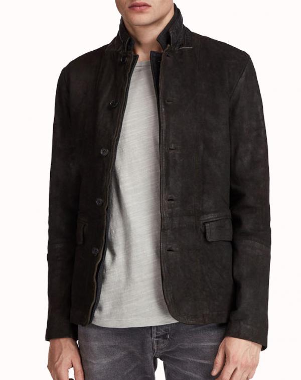 Dick Grayson Suede Leather Blazer