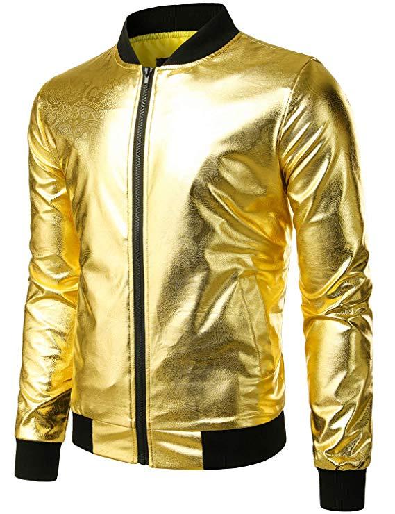 Elton John Golden Jacket