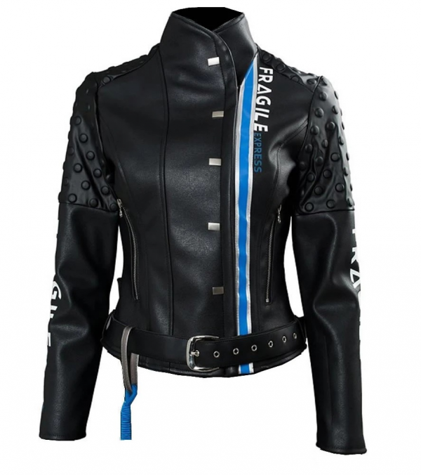 Fragiles Express Leather Jacket