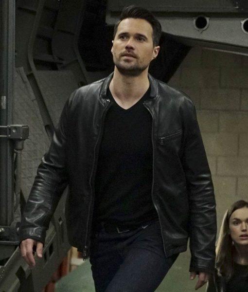 Grant Ward Leather Jacket