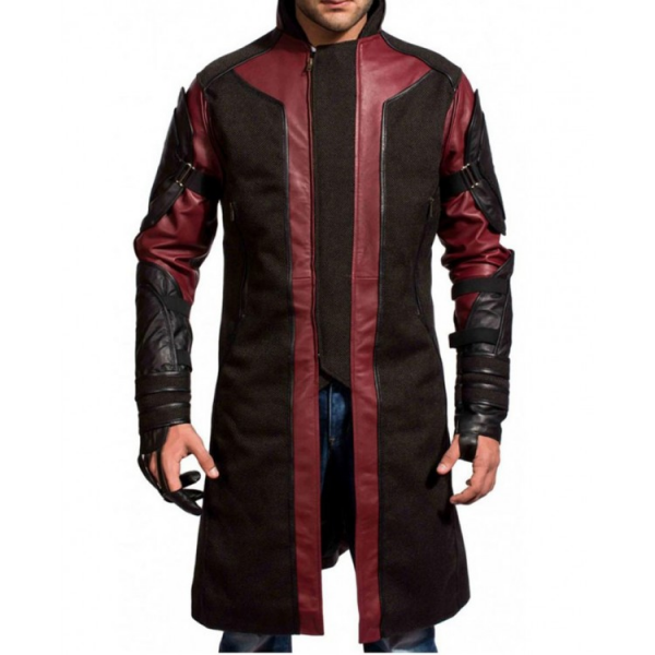 Hawkeye Age Of Ultron Leather Coat