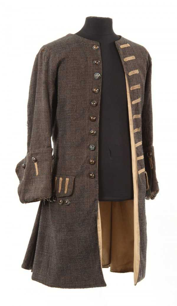 Jack Sparrow Wool Coat