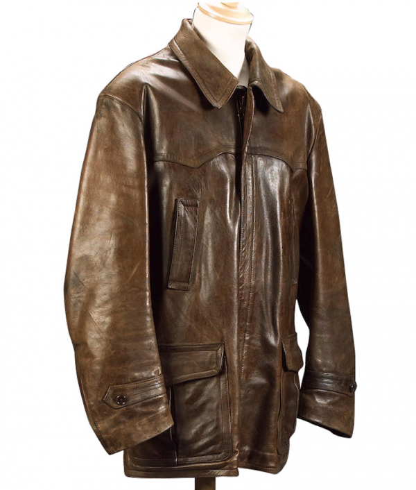 James Bond No Time To Die Tan Leather Jacket