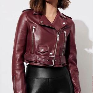 Jessica Davis Leathers Jacket
