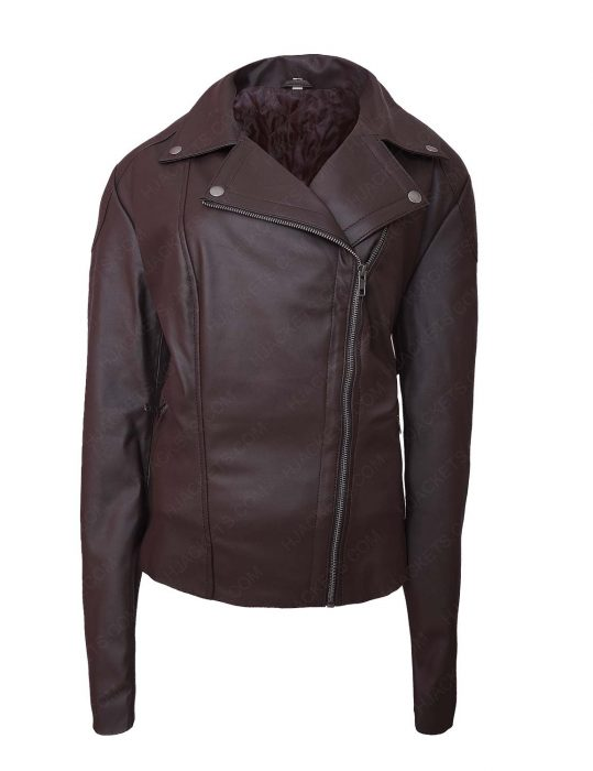 Lettys Ortiz Leather Jacket