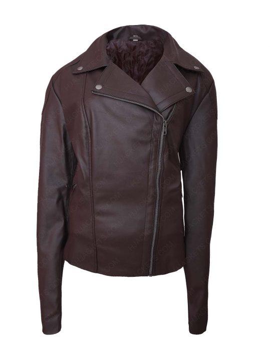 Lettys Ortiz Leather Jacket