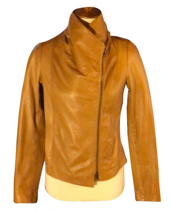 Melinda Monroes Brown Jacket