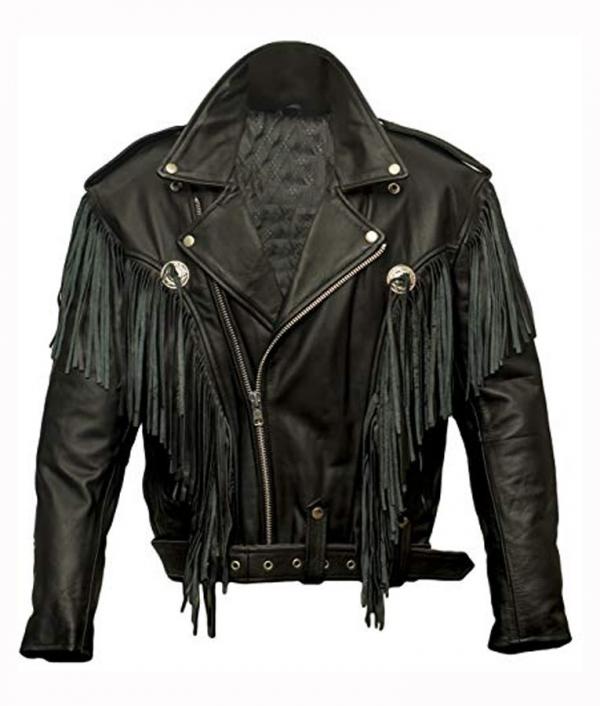 Money Heist Fringe Leather Jacket