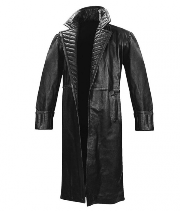 Nick Fury Iron Man 2 Leather Coat