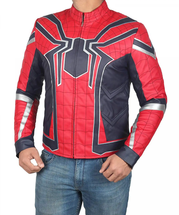 Spiderman Infinity War Leather Jacket