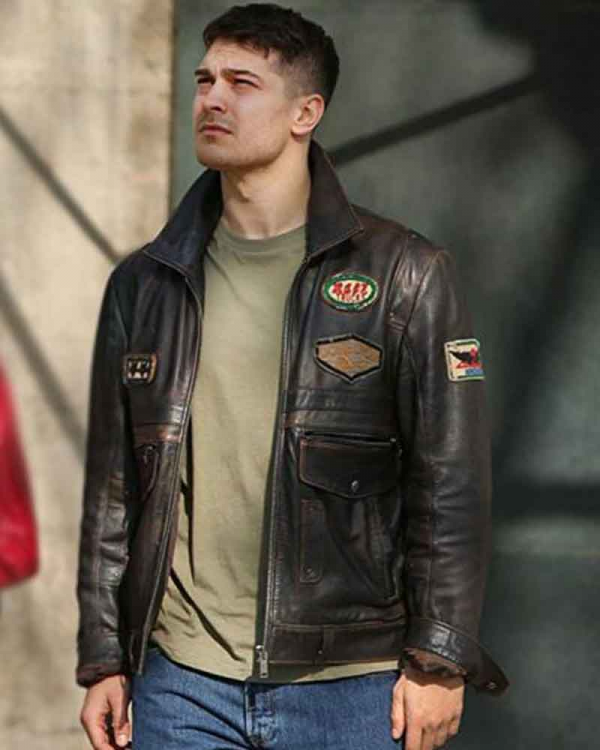 The Protector Season 4 Leather Jacket