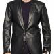 Tony Soprano Leather Blazer
