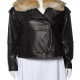 Vince Biker Leather Jacket