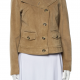Weekend Max Mara Suede Leather Jacket