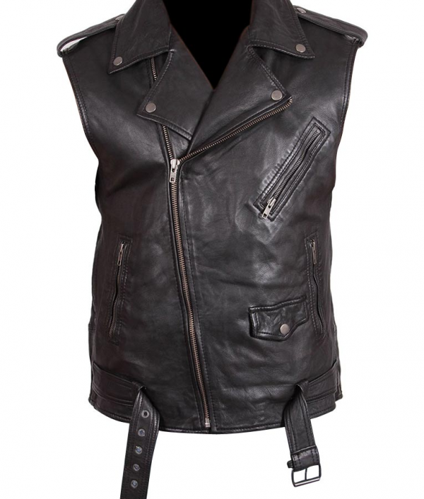 Classic Motorcycles Leather Vest