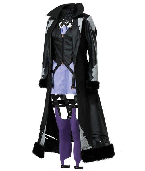 Code Vein Mia Karnstein Leather Coat