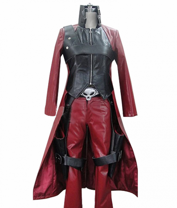 Devil May Cry 2 Dante Trench Leather Coat