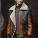 Sheepskin Shearling Bomber Leathers Jacket
