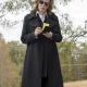 Watchmen Laurie Blake Wool Coat