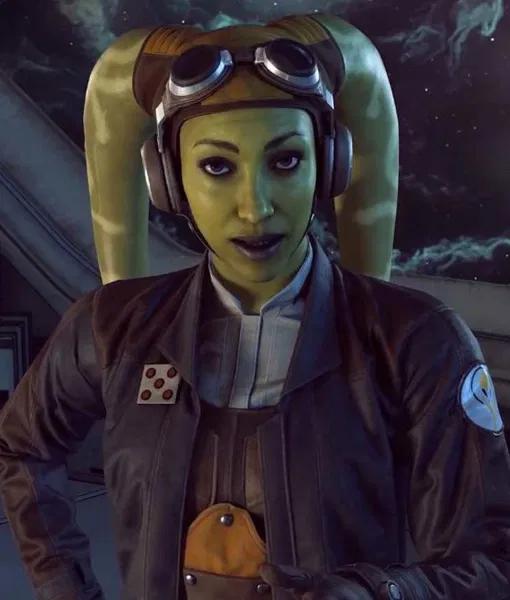 Hera Syndulla Star Wars Squadrons Jacket