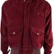 Jack Torrance Red Corduroy Jacket