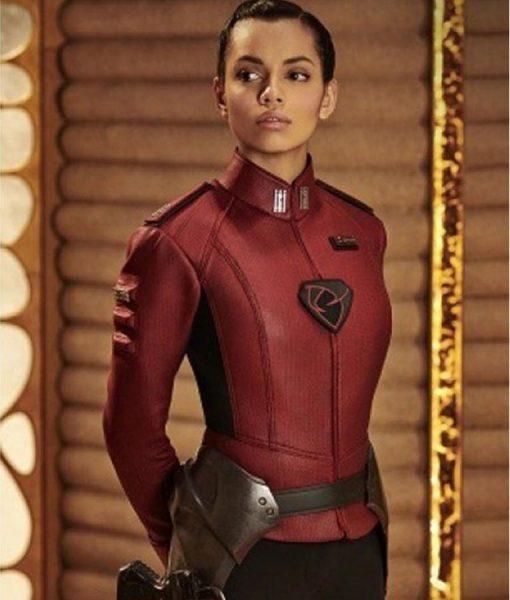 Krypton Lyta-zod Georgina Campbell Jacket