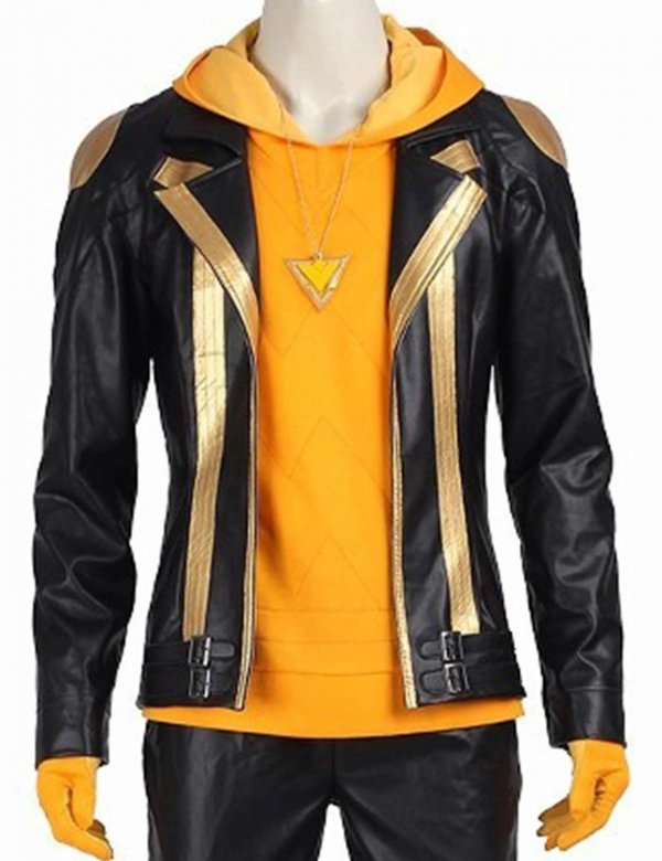 Pokemon Go Team Spark Leather Jacket