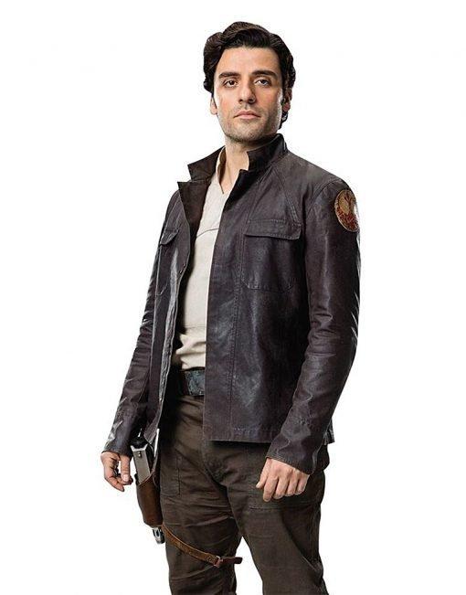 Star Wars The Last Jedis Poe Dameron Jacket