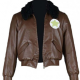 Aph America Bomber Leather Jacket