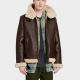 Audens Shearling Aviator Jacket