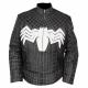 Black Spiderman Leather Jacket