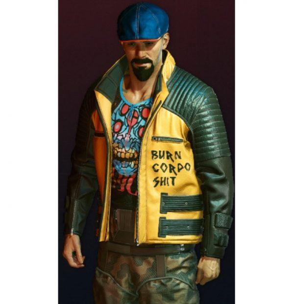Burn Corp Shit Cyberpunk Jacket