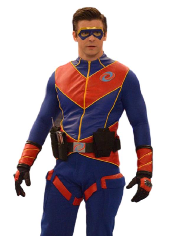 Captain Man Costume Jacket