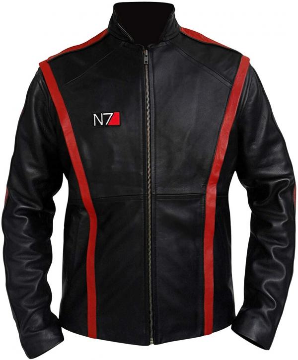 Commander Shepard Leathers Jacket